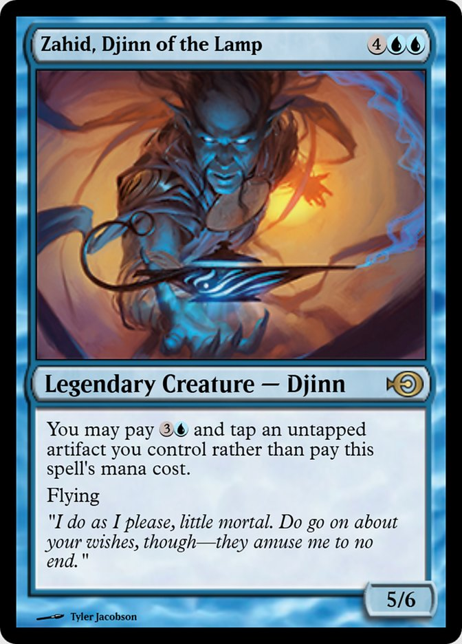 Zahid, Djinn of the Lamp