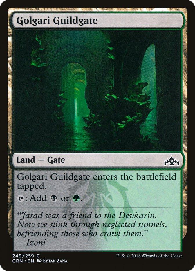 Commander 2019 Edition Magic: the Gathering Cancello della Gilda Izzet Izzet Guildgate