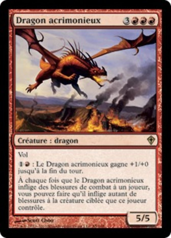 Dragon acrimonieux