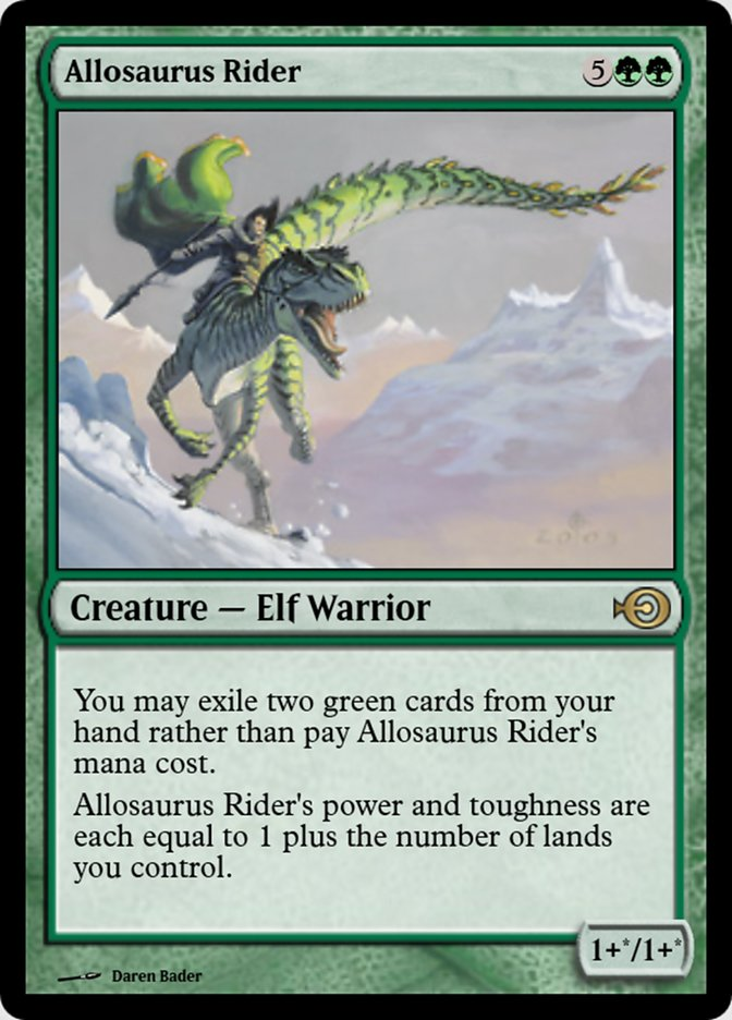 Allosaurus Rider