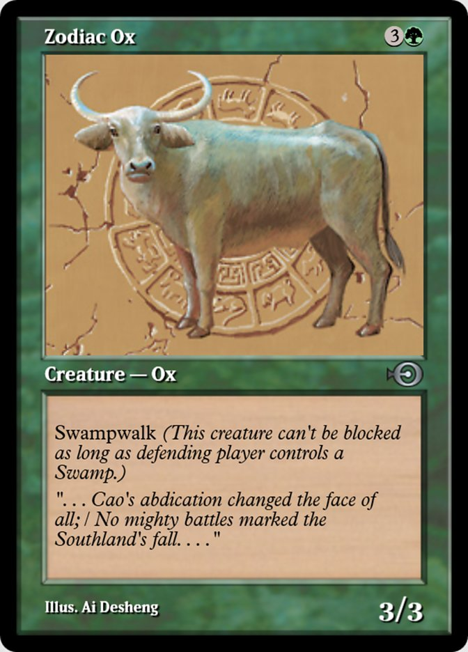 Zodiac Ox