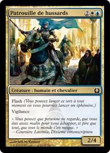 Patrouille de hussards