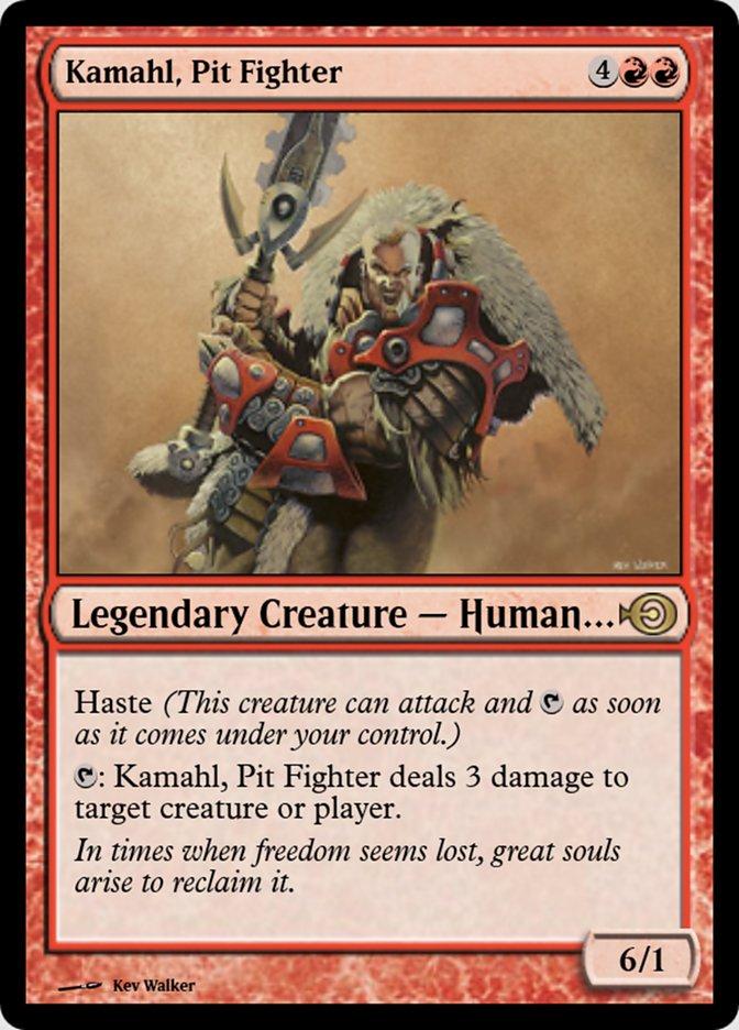 Kamahl, Pit Fighter